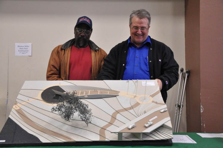 Eddie Dixon and Stan Carroll, Sculptor and Architect
