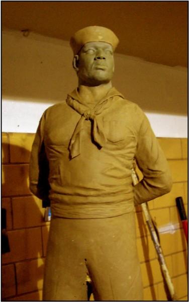 Sculpture Maquette - Artist Eddie Dixon